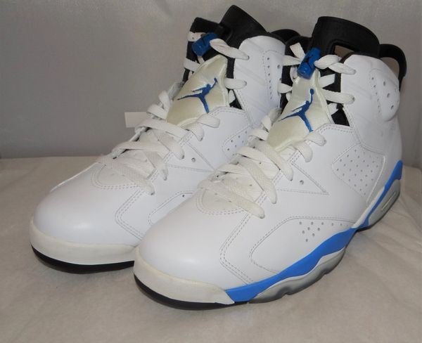 Air Jordan 6 Sport Blue Size 11 #5074 384664 107