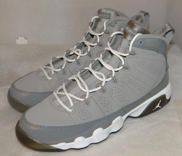 Air Jordan 9 Cool Grey Size 6 #4855 302359 015