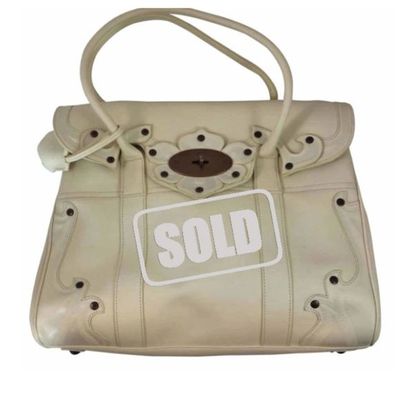 25084065868 ... norway mulberry bayswater calfskin darwin tooled top handle bag new.  79145 f29a0
