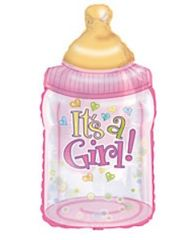 """It's a Girl"" Bottle Balloon"