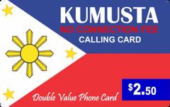 Kumusta calling card