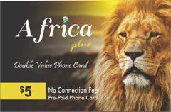 Africa plus calling card