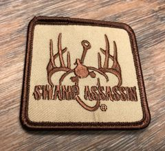 Swamp Assassin Logo Patch Decal