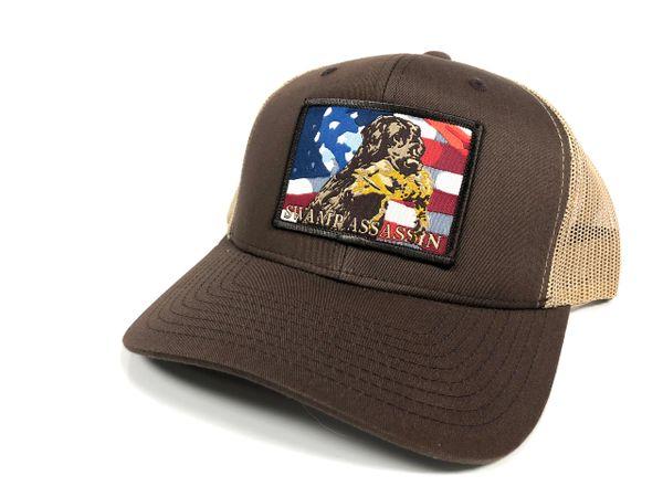 New Brown/Khaki Freedom Retriever Snapback