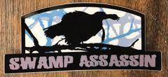 New Swamp Assassin Longbeard Decal Blue Grey