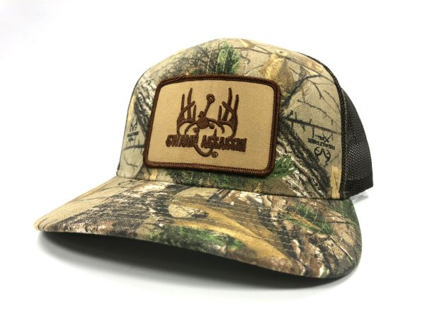 Realtree Xtra Camo and Brown Ranch Series (Brown/Khaki Ranch Patch)