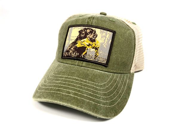 New Legacy Series Olive Green Khaki Timber Retriever Snapback