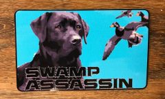 New Swamp Assassin Eyes to the Sky Retriever Decals