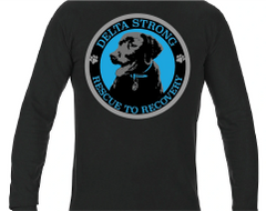 Delta Strong Rescue to Recovery Comfort Colors Longsleeve Tee