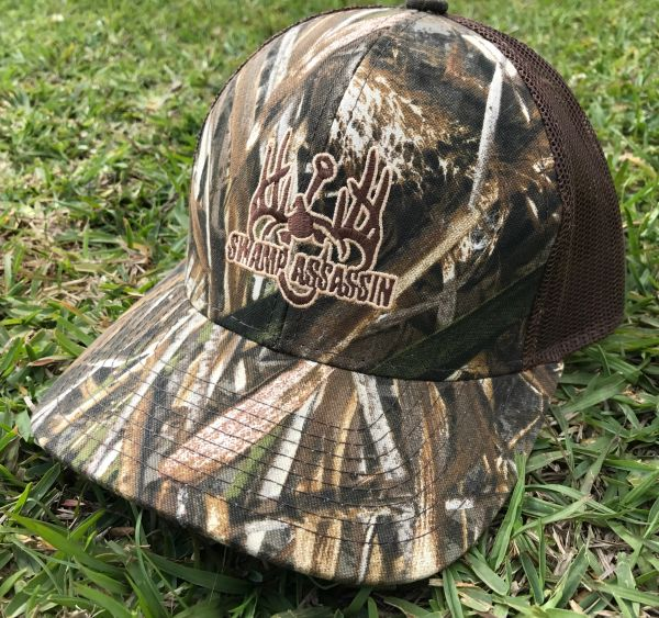 The New Realtree Max 5 Swamp Assassin Snapback