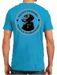 Delta Strong Rescue to Recovery Tee
