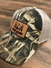 Realtree Max 5 Swamp Assassin Leather Patch Snapback