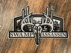 Swamp Assassin Full Rut Decal Green