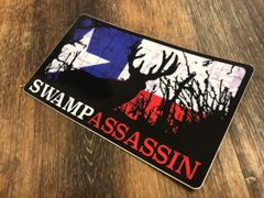 Swamp Assassin Texas Edition Whitetail Decal