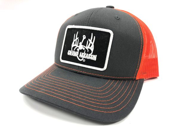 New Graphite Grey/Neon Orange Ranch Series (Black/White Patch)
