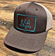 Brown/Khaki Ranch Series BaseballFit Snapback (Brown/Teal Patch)