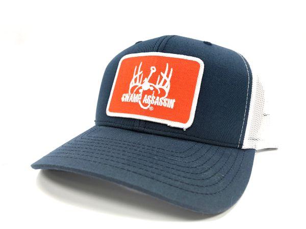 Navy/White Ranch Series BaseballFit Snapback (Orange/White Patch)