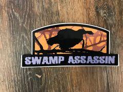 New Swamp Assassin Longbeard Decal Orange/Brown