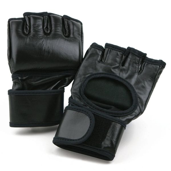 Standard MMA Open Palm Gloves Black