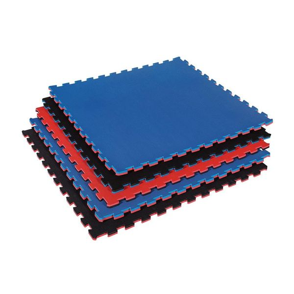 Puzzle Mat Red/Blue Reversible