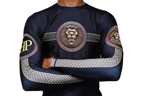 Limited Edition Break Point King Of Beast Jiu Jitsu Rash Guard
