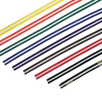 Color Belt w/White Stripe