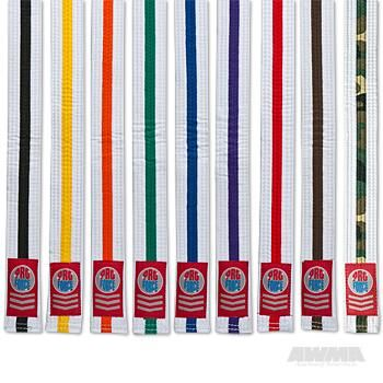 Kids 1.5 Single Wrap White w/Color Stripe