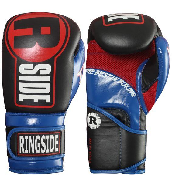 Ringside Apex Blue/Red Boxing Gloves