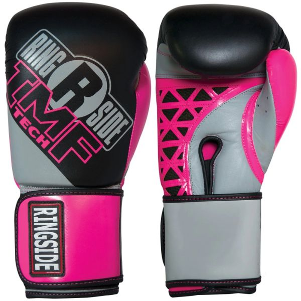 Women's Ringside Cut IMF Tech Sparring Gloves Pink/Black