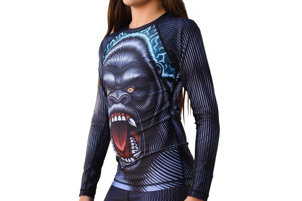 Kids Limited Edition Break Point Gorilla Warfare Jiu Jitsu Rash Guard