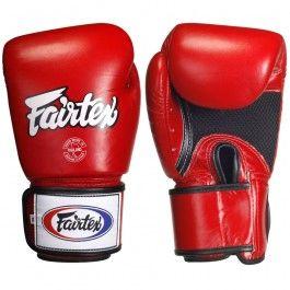 Fairtex Sparring Red Gloves