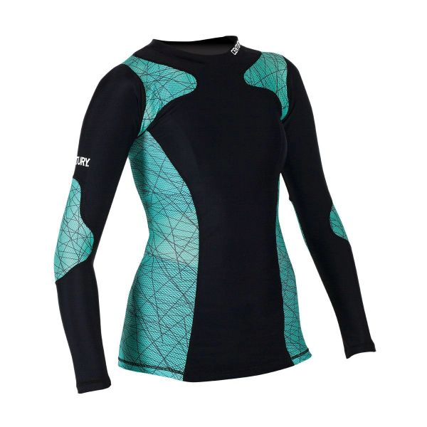 Century Women's Long Sleeve Rashguard