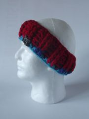 Headband - Red and Orange/Navy/Turquoise/Red