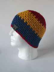 Beanie- Red, Yellow andBlue