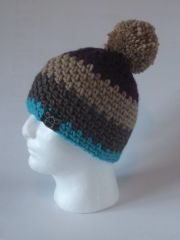 Toque - Plum, Beige, Rustic and Turquoise