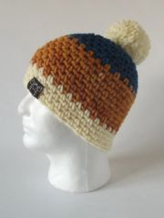 Toque - Blue, Saffron and Cream