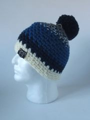 Toque- Grey, Blue/Cream mix, Blue , Navy and Cream