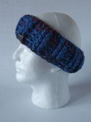 Headband- Fuchsia, Royal Blue and Navy blend