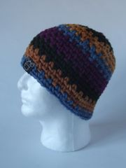 Beanie- Fuchsia, Khaki, Saffron, and Dusty Blue