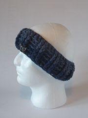 Headband - Denim and Navy