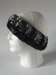 Headband -Black/Grey/Cream and Black