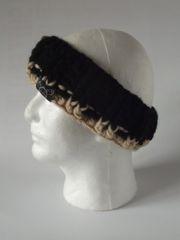 Headband - Black and Beige