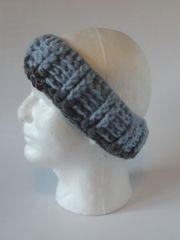 Headband - Light Blue and Grey