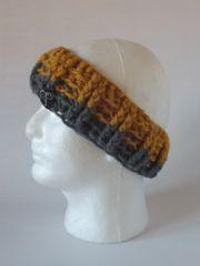 Headband - Mustard and Grey