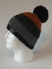 Toque - Saffron, Forest Green, Grey and Black