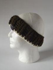 Headband - Green and Cream
