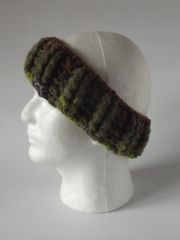 Headband - Rock Candy and Green blend