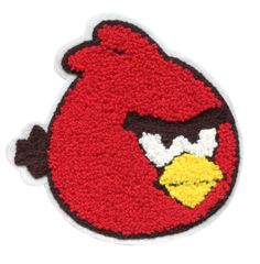 Angry Bird Chenille Patch XL (12cm)