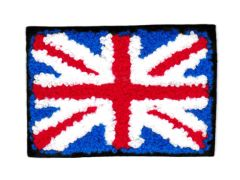 Chenille Union Jack British Flag Patch 9cm