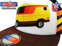 smARTpatches Truckers 79eighty 70's Custom Van Trucker Hat